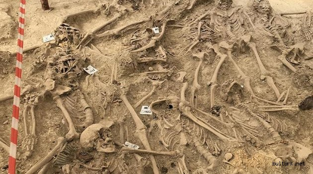 108 yıl önce şehit olan 30 askerin mezarı bulundu!