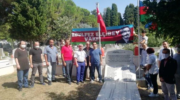 """""""Bakü Fatihi Nuri Paşa"""" Kabristanda anıldı."""