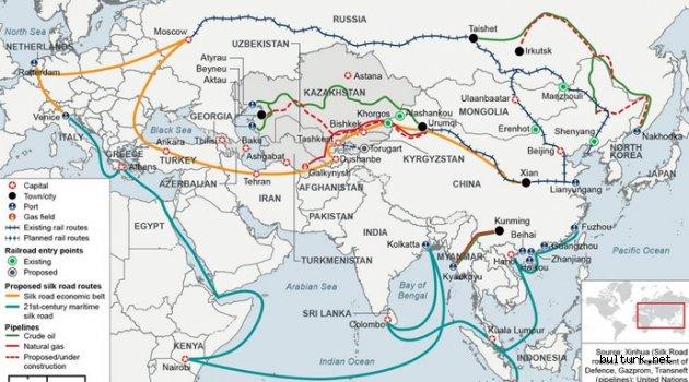 'Bir Kuşak Bir Yol Projesi' nedir ? Projeye dahil 65 ülke hangileri ?