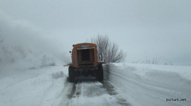 Bulgaristan'da kar yük taşımayı olumsuz etkiliyor