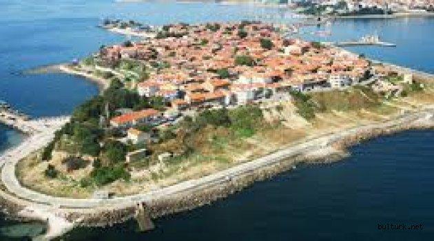 Bulgaristan'ın tarihi yarımadasındaki Nesebar Antik Kenti
