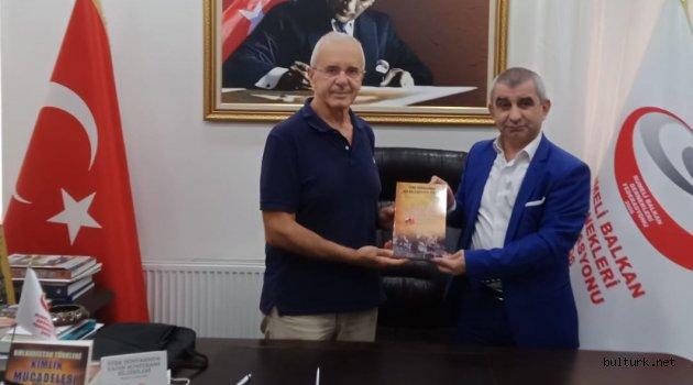 BULTÜRK'den Rumeli Balkan Dernekleri Federasyonu'na ziyaret