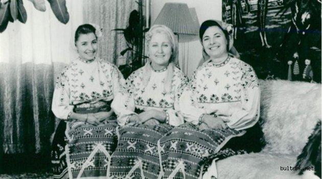 Dobruca halk şarkısının 'beyaz kırlangıcı' olan Eva Georgieva