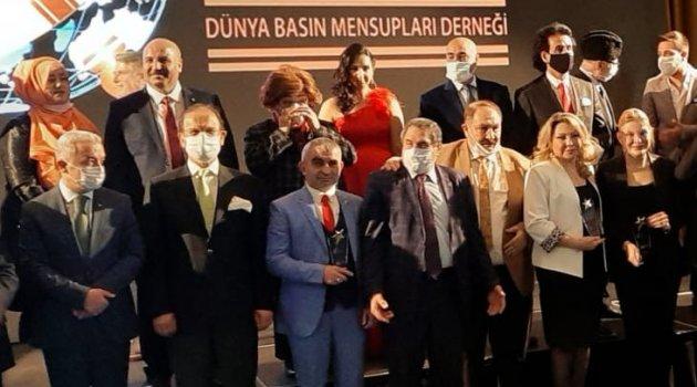 Dünya Basın Mensuplarından BULTÜRK'e Ödül