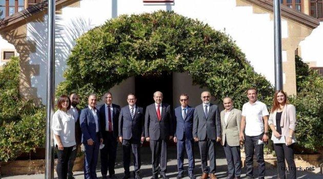 Ersin Tatar: Kıbrıs Türk halkı dayatmaları kabul etmez Kaynak: Ersin Tatar: Kıbrıs Türk halkı dayatmaları kabul etmez
