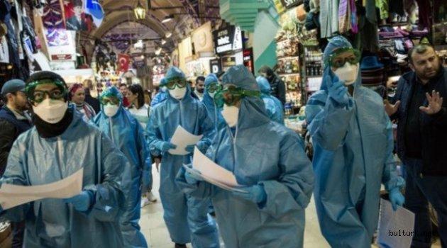 Kapalıçarşı ve Mısır Çarşısı koronavirüs tedbirleri kapsamında kapatıldı