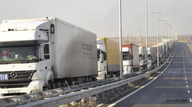 Kapitan Andreevo sınır kapısında 50 kilometrelik TIR kuyruğu