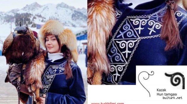 Kazak Hun tamgası