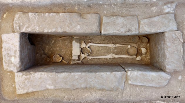 Savaşçı Kemeri Takan Etrüsk Çocuk Mezarı Bulundu