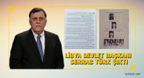 Libya Devlet Başkanı Serrac Türk çıktı