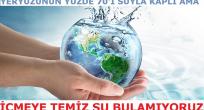 844 milyon insan temiz suya ulaşamıyor