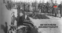 ABD TAM 70 MİLYON KIZILDERİLİYİ KATLETTİ
