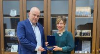 Bulgaristan Başsavcısı Aylin Sekizkök ile görüştü