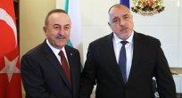 Çavuşoğlu, Boyko Borisov ile görüştü