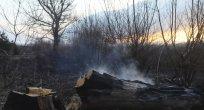 Dragoman Gölü arazisinin %80'i yangından zarar gördü