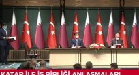 Katar Emiri Türkiye'de! Erdoğan karşıladı, iki ülke anlaştı