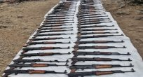 Pençe-Kaplan Operasyonu'nda PKK'ya ait silah ve patlayıcı ele geçirildi