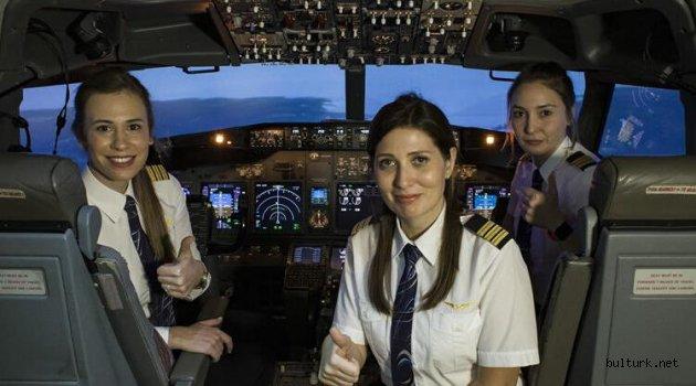 THY, kadın pilot sayısında 211 ile tarihi rekor kırdı