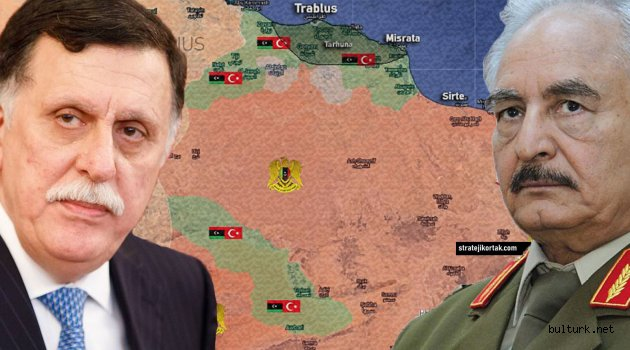 Türkiye Farkı ile Libya Haritası