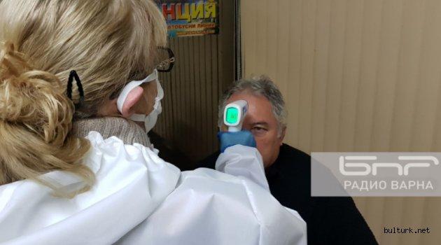 Varna gar ve otogarında korona virüs kontrolleri yapılıyor